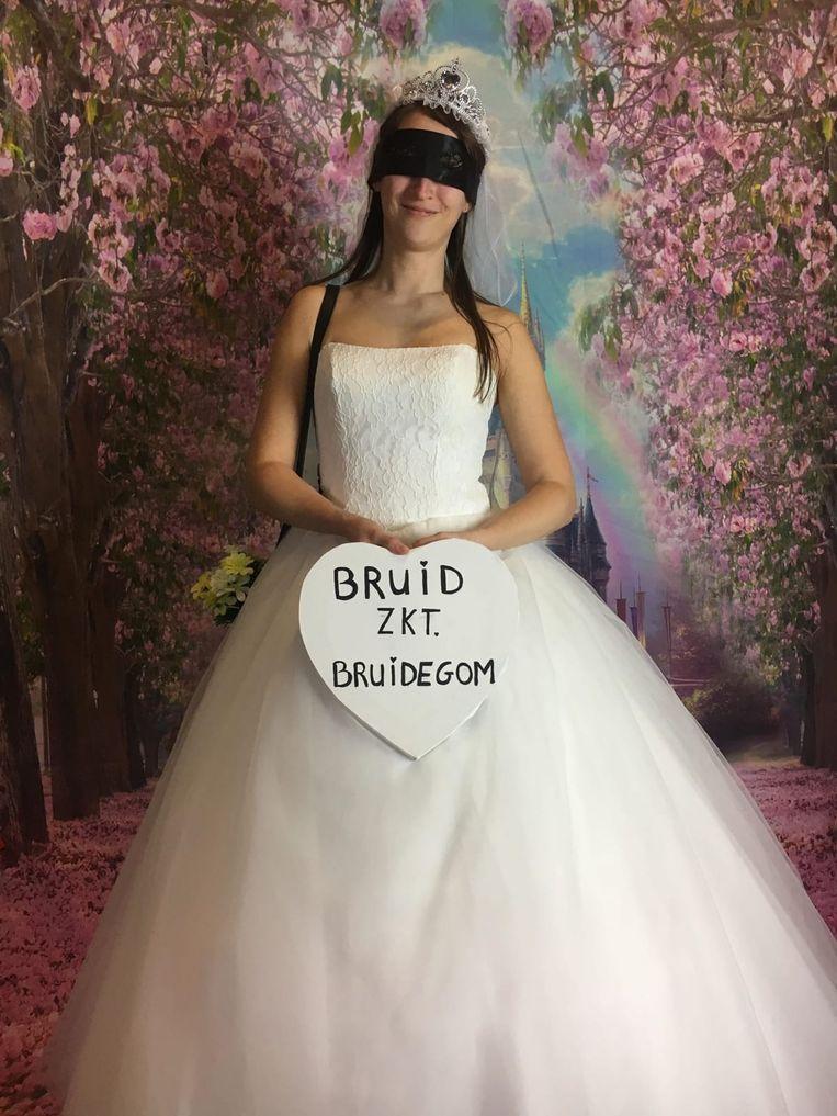 De bruid heeft haar prins gevonden.