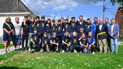 Kampioenen van SKVO Overmere gehuldigd op gemeentehuis