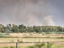 Natuurbrand op de Peel bij Liessel onder controle