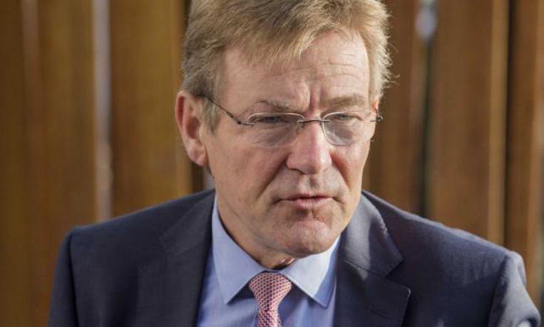Minister van Financiën Johan Van Overtveldt begrijpt niet hoe een democratisch land mensen in de gevangenis kan zetten omwille van hun politieke mening.