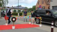 Laatstejaars basisschool Harten Troef als filmsterren onthaald op laatste schooldag