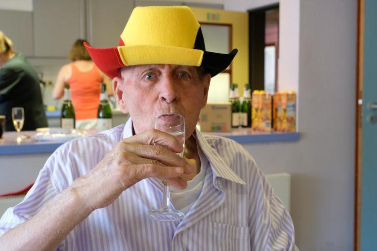 Frans Theunis woont al 50 jaar in rusthuis Lichtenberg.