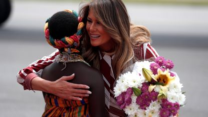 Amerikaanse First Lady in Ghana aangekomen voor rondreis in Afrika