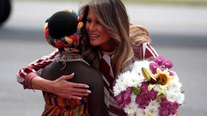 Amerikaanse First Lady in Ghana aangekomen voor rondreis in Afrika