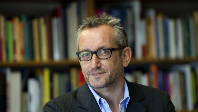 Juryvoorzitter Peter Vandermeersch maakte de genomineerden bekend in het VPRO-radioprogramma 'Nooit meer slapen'. Beeld null