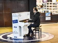 Door relschoppers gesloopte piano Eindhoven Centraal krijgt plekje in Spoorwegmuseum in Utrecht