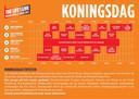 Timetable The Life i Live op Koningsdag