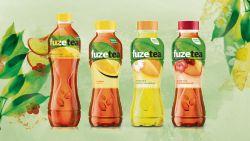 Coca-Cola pakt uit met nieuwe 'Fuze Tea'