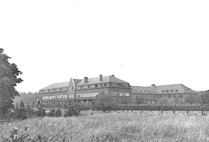 Het oude ziekenhuis in Lommel.