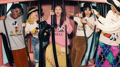 Gucci lanceert Mickey Mouse collectie voor het Jaar van de Rat
