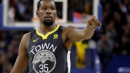 Durant maakt liefst 50 punten, maar dan nog kan Golden State niet winnen