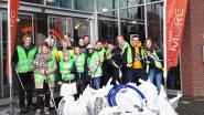 Studenten Thomas More Hogeschool verzamelen 18 vuilniszakken zwerfvuil