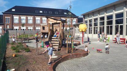 Nieuwe speelplaats voor leerlingen VBS Borsbeke