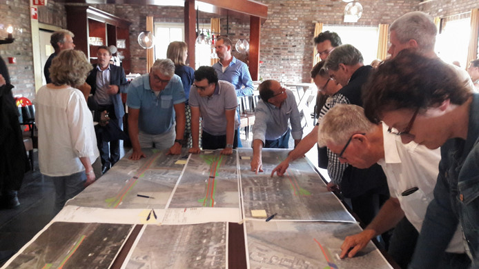 Informatieavond over de aanpak van de N631 Oosterhout Rijen in de Seterse Hoeve in Oosterhout