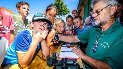 Leerlingen maken kennis met familie gierzwaluwen