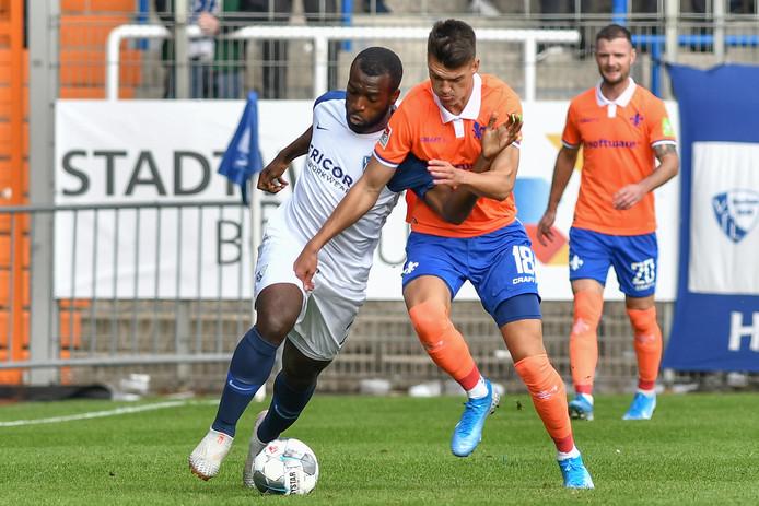 Bapoh in actie namens VFL Bochum.