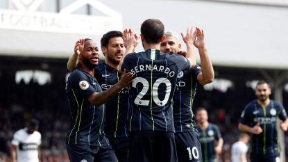 De Bruyne en Man City hebben geen kind aan Fulham, druk ligt weer bij Liverpool