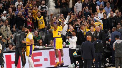 LeBron James op dreef voor Lakers, Antetokounmpo nog meer bij Bucks