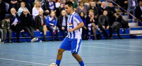 Zaalvoetballers FC Eindhoven met riante zege play-offs in