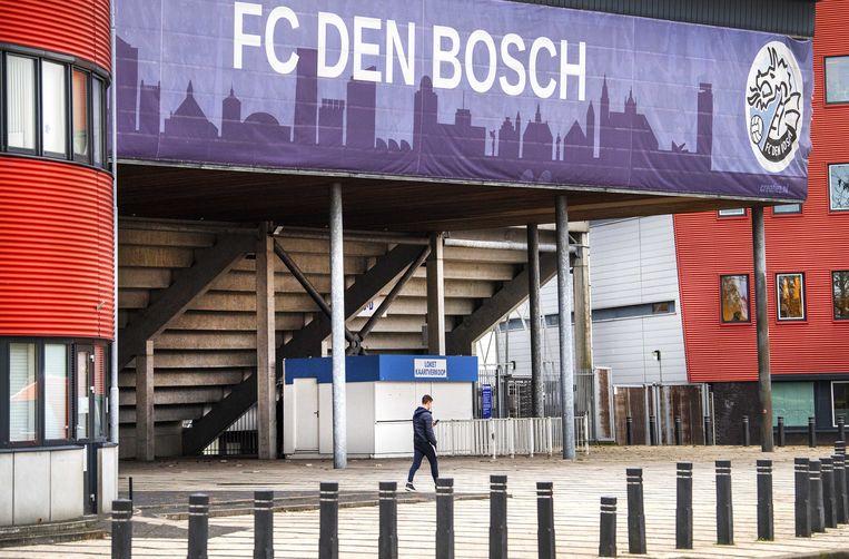 Het stadion van FC Den Bosch.  Beeld ANP