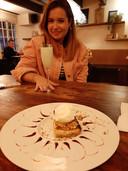 Sgroppino voor Cynthia Schulz, citroen cheesecake voor Janske Mollen bij Sardinia in Meppel.