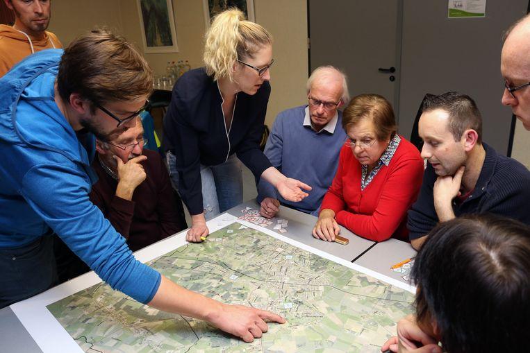 Inwoners Lille brengen trage wegen mee in kaart