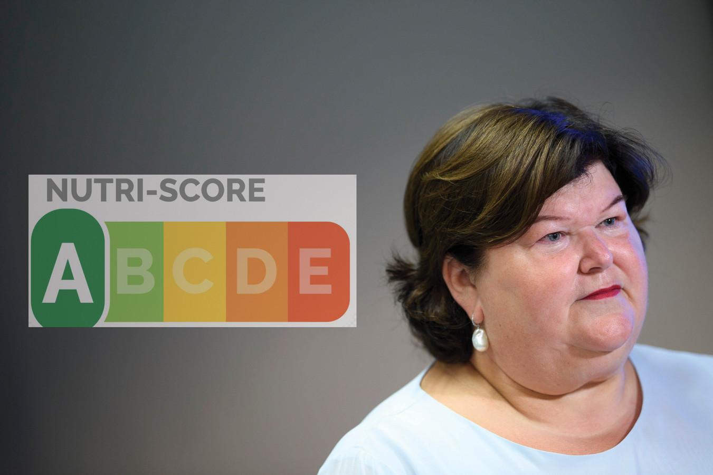 Le nutri-score de Maggie De Block