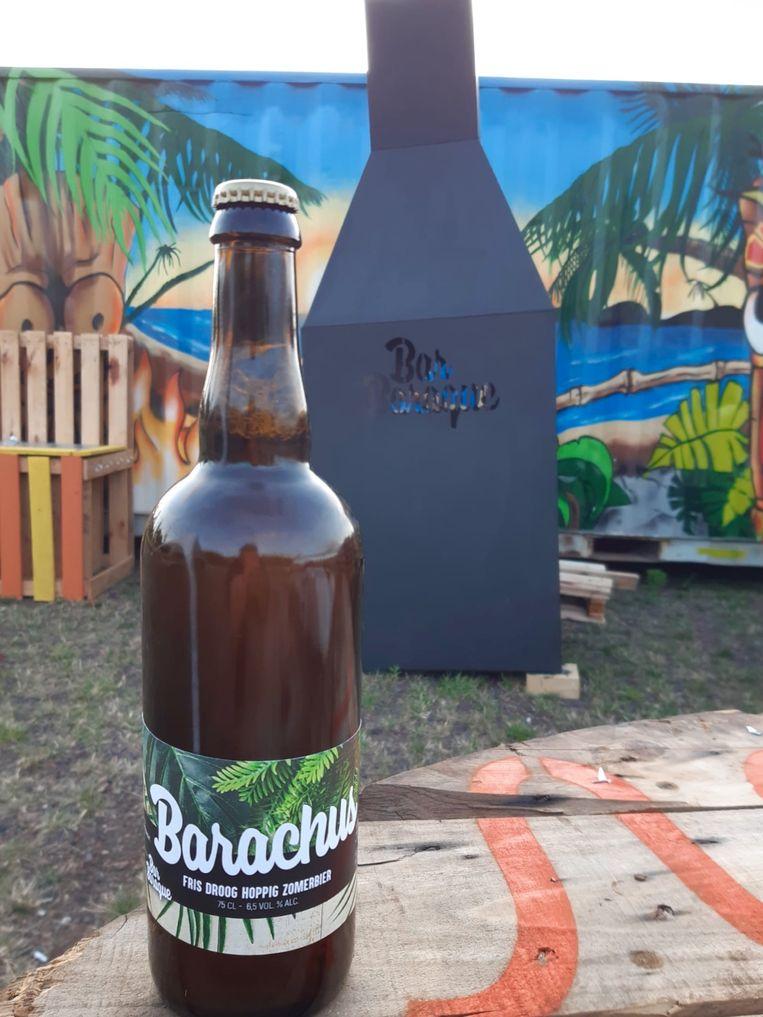 Bar Baraque heeft met 'Barachus' voortaan ook een eigen bier.
