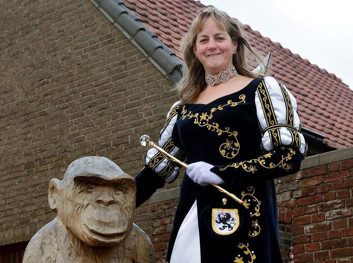 Prinses Wendy Verhoeven van Nispen.