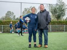 14-jarige 'Aussie' Danielle jaagt ver van huis haar voetbaldroom na in Zeeland
