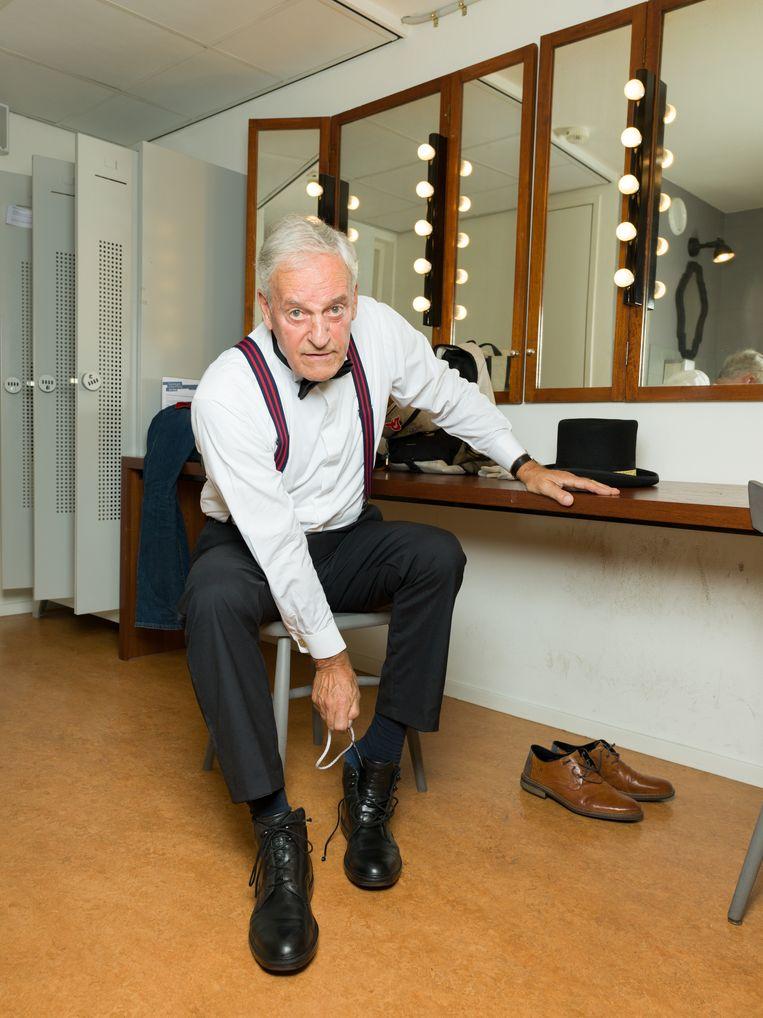 Ruub Petow streeft naar perfectie in zijn rol als gastheer. Beeld Ivo van der Bent
