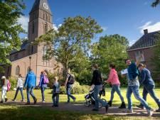 Gemondenaren oefenen voor de vierdaagse in Nijmegen