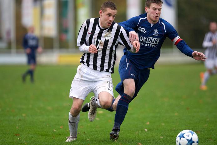 Bram van Dooren scoorde tweemaal voor Silvolde.