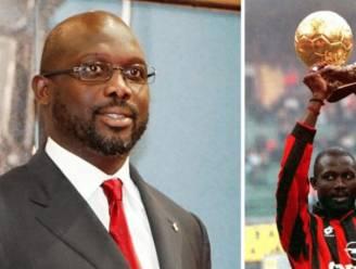 Eerste Afrikaanse wereldvoetballer van het jaar nieuwe president van Liberia