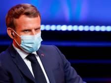"""Macron: """"Si le Parlement européen ne se réunit qu'à Bruxelles, on est foutu"""""""