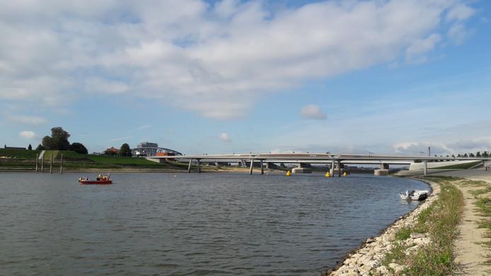 De Spiegelwaal, het decor van een weekeinde Triathlon024.