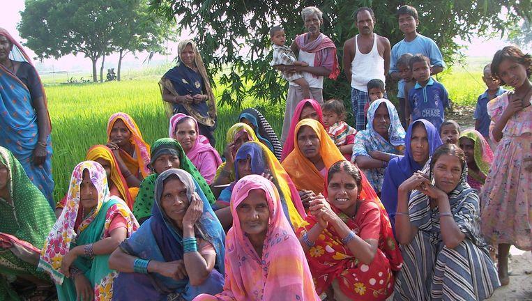 Armen in India profiteren van beleggingen in Equitas, organisatie voor microfinancieringen Beeld null