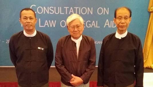 Advocaat U Hla Koh (m).