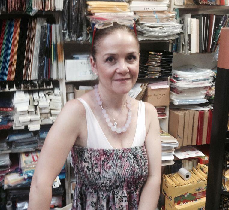 'Geloof, familie, de Grieks-orthodoxe kerk, die zaken zijn nodig.' - Ioanna Potari Beeld Thijs Kettenis