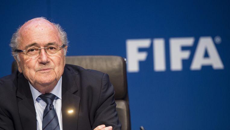 Sepp Blatter. Beeld anp