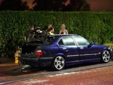 Autobrand in Budel, eigenaar wilde auto net te koop zetten