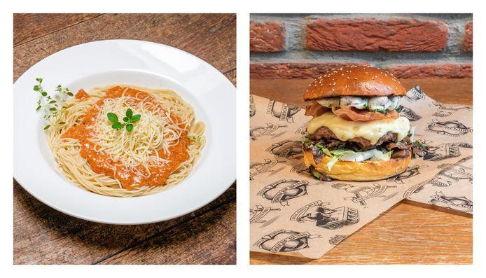 De Spaghetti Kastart van De Kastart in Gent staat op nummer een, gevolgd door de Empire Cheeseburger van Manhattn's Burgers in Brussel.
