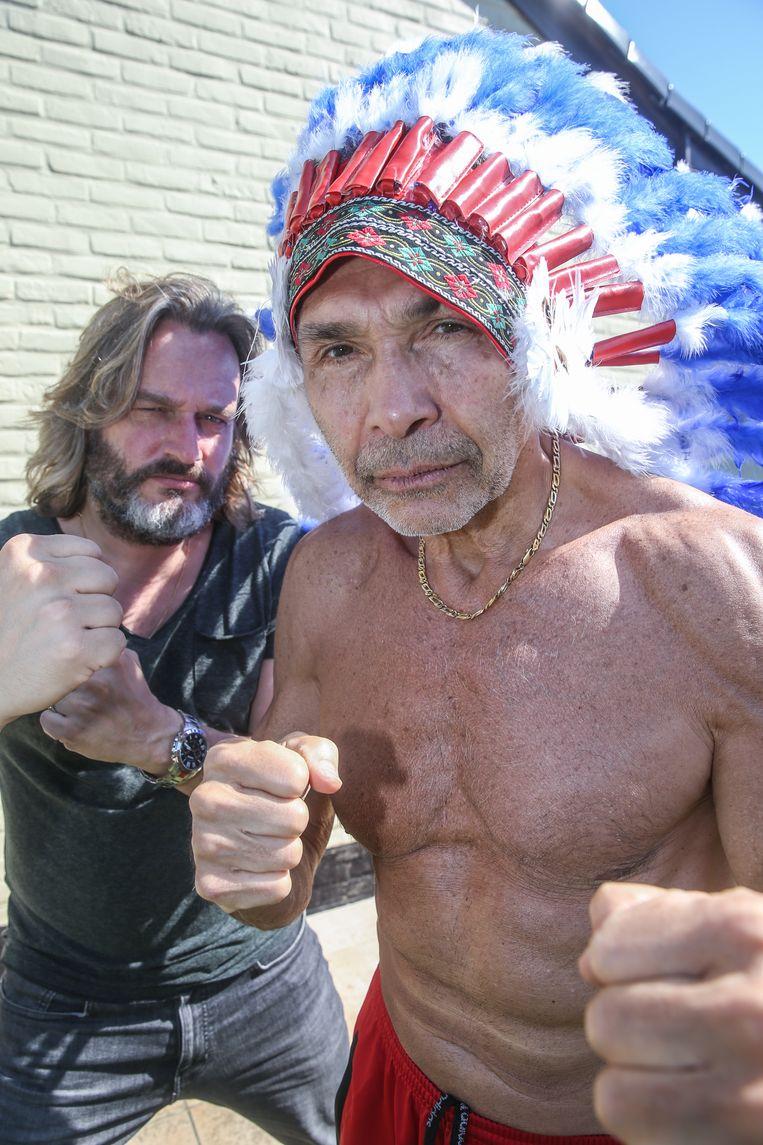 Buffalo Kurt Burgelman en Freddy De Kerpel.