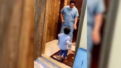 Saudiër kan zoontje niet aanraken door coronavirus