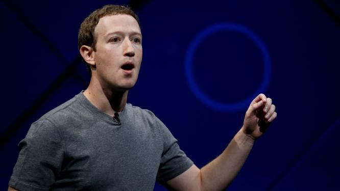 """Zuckerberg door het stof: """"Als we data van mensen niet kunnen beschermen, verdienen we hun vertrouwen niet"""""""