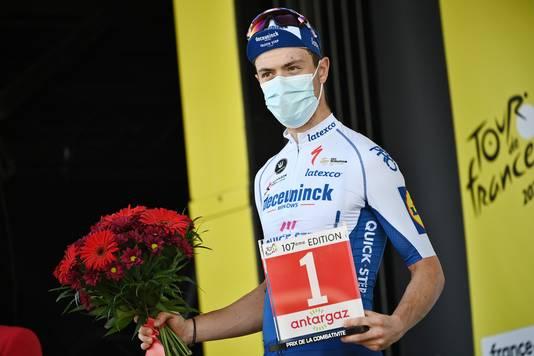 Rémi Cavagna ontving de prijs van de strijdlust.