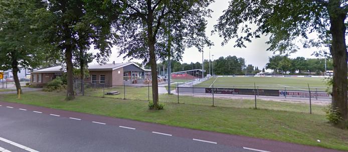 Het clubgebouw van VOAB in Goirle.