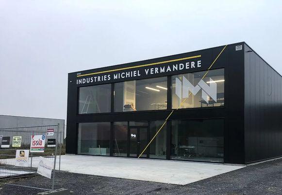 De nieuwbouw van Industries Michiel Vermandere.