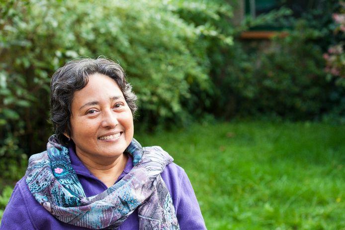 De Tilburgse schrijfster Rihana Jamaludin.