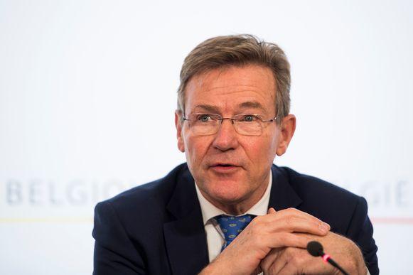Minister van Financiën Johan Van Overtveldt (N-VA)